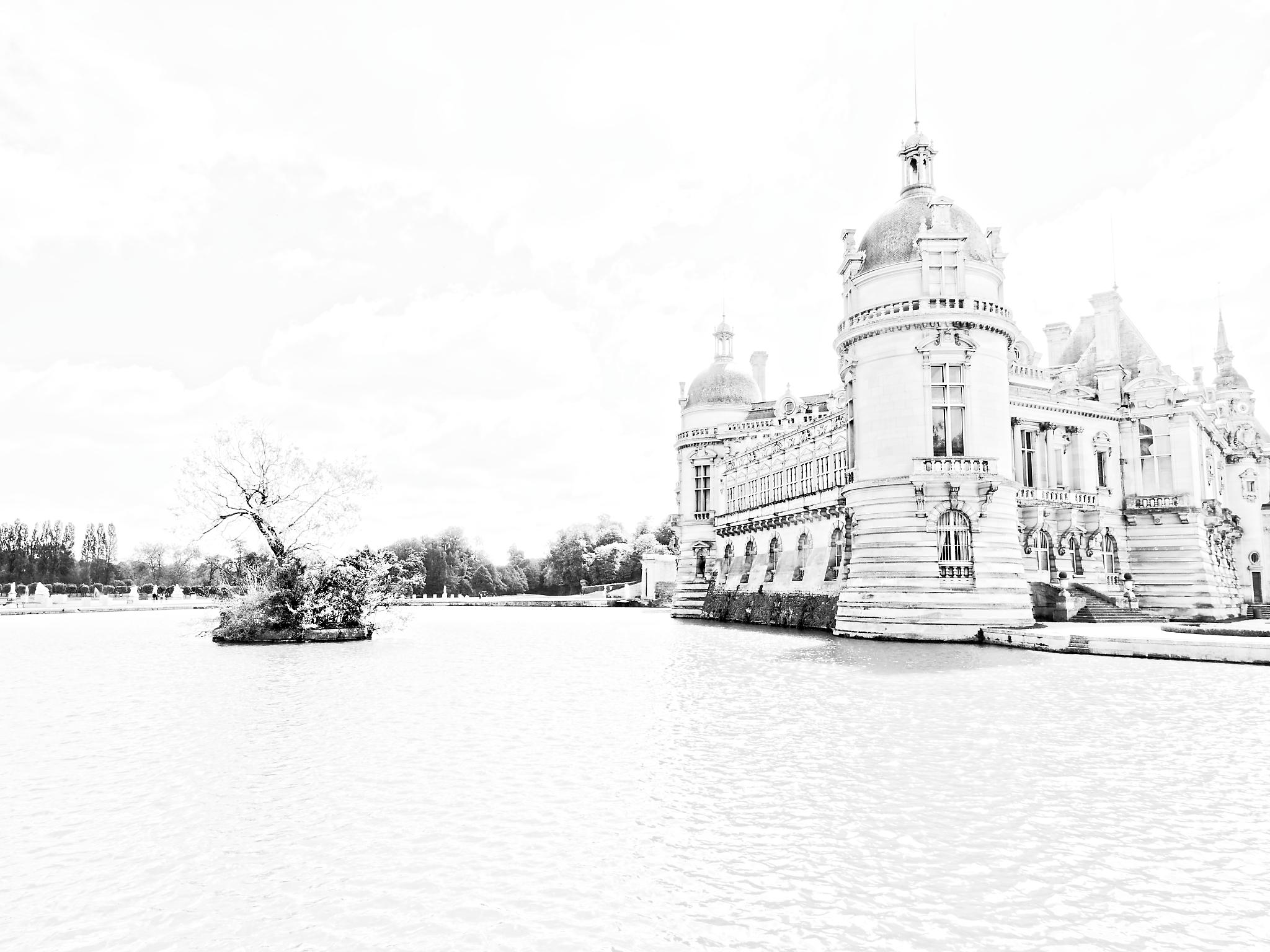 12 mai – Châteaux d'Ecouen, de la Reine Blanche et de Chantilly